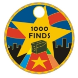 "Pathtag ""1000 Cache-Funde"""