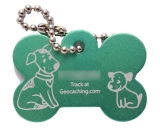 Woof Travel Tag, green