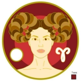 Zodiac star sign Aries