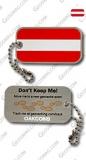 """Anhänger """"Österreich-Flagge"""" Cache Buddy"""