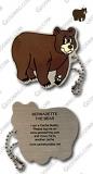 Bernadette the Bear Travel Tag