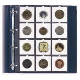 Blätter für Coins 67x67 mm