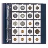 Blätter für Coins 50x50 mm