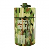 Small Cylinder Geocache - Light Camo