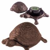 """Cache-Behälter """"Schildkröte"""", Gusseisen"""