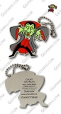 Count Cacheula Travel Tag