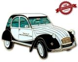 Auto Geocoin - Ente CV Black&Withe LE 100