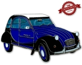 Auto Geocoin - Ente CV Royal Blue LE 100