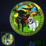 "Geocoin GCC ""Geocaching Dogs"""