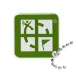 """Anhänger """"Geocaching.com Logo"""", grün"""