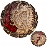 Geocoin Dragon Warrior Midhunth