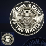 "Geocoin GCC ""Born To Cache"""