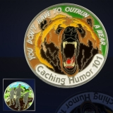 "Geocoin GCC ""Caching Humor 101"""