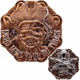 "Geocoin GCC ""Dead Men Tell No Tales"""