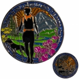 "Geocoin GCC ""Take A Walk In Nature"""