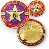 Geocoin Geo-Achievement Set 81 Matrix