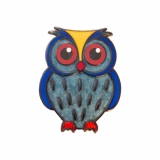 Geocoin Baby Owl - Ocean