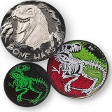 "Geocoin ""Bone Wars"""