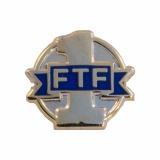 """Geocoin """"FTF"""", nano, gold"""