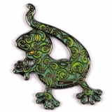 "Geocoin ""Gecko grün"", RE"