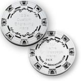 """Geocoin """"Poker Casino"""", silbern"""