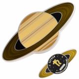 "Geocoin ""Solar System - Saturn"""
