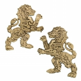 "Geocoin ""Steampunk Predators-Lion"""