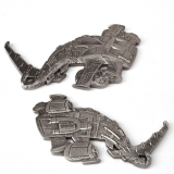 "Geocoin ""Steampunk Predators Shark"""