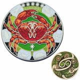 "Geocoin ""Zodiak: Krebs"""