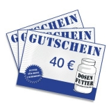 Geschenkgutschein 40€