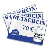 Geschenkgutschein 70€