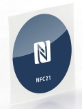 NFC Sticker blau