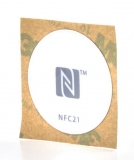 NFC Sticker grau