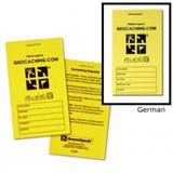 Logbuch Groundspeak, klein, deutsch