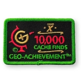 Geo-Achievement® Patch 10.000 Finds