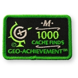 Geo-Achievement® Patch 1000 Finds