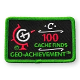 Geo-Achievement® Patch 100 Finds