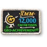 Geo-Achievement® Patch 12.000 Finds
