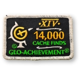 Geo-Achievement® Patch 14.000 Finds