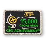 Geo-Achievement® Patch 15.000 Finds