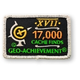 Geo-Achievement® Patch 17.000 Finds