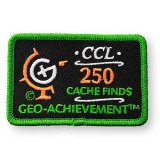 Geo-Achievement® Patch 250 Finds