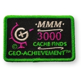 Geo-Achievement® Patch 3000 Finds