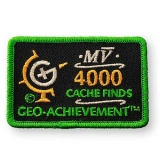 Geo-Achievement® Patch 4000 Finds