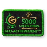 Geo-Achievement® Patch 5000 Finds
