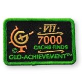 Geo-Achievement® Patch 7000 Finds