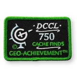 Geo-Achievement® Patch 750 Finds