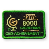 Geo-Achievement® Patch 8000 Finds