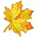 """Pathtag """"Goldenes Herbstblatt"""" für einen goldenen Herbst!"""