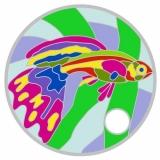 """Pathtag """"Regenbogenfisch"""""""